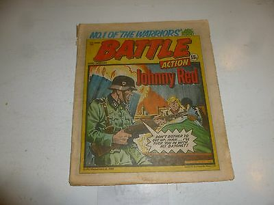 BATTLE ACTION Comic - Date 31/01/1981 - UK Paper Comic