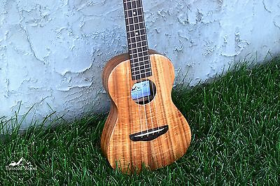 Tenor Ukulele Solid Acacia - The Banyan by Twisted Wood Guitars