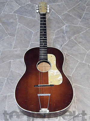 vintage flattop Jazz BLUES GITARRE vollmassiv old all solid guitar Germany 1950`