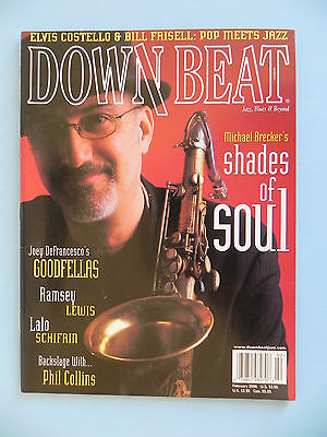 Down Beat Magazine 2000 Elvis Costello Bill Frisell Phil Collins