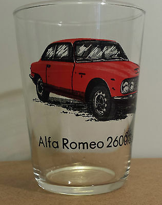 Alfa Romeo 2600 Sprint Vintage Juice Glass Engine Specs In French Sports Cars