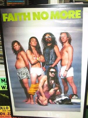 Faith No More Poster New  Vintage Collectable  1991 Mike Patton Mr Bungle
