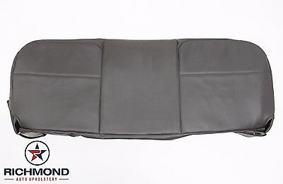2008-2010 Ford F250 F350 F450 XL -Bottom Bench Seat Replacement Vinyl Cover Gray