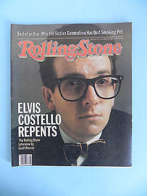 Rolling Stone Magazine #377 9/2/82 Elvis Costello Repents Bryan Ferry