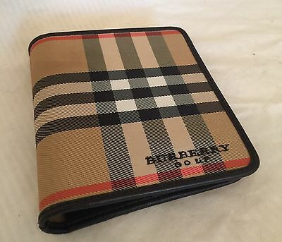 Wow! - New - Vintage - Burberry Golf Score Wallet