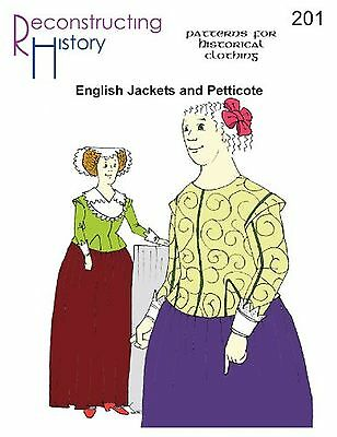 16th & 17th Century Late Elizabethan and Jacobean English Jackets and Pettico...