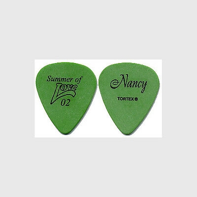 Heart Nancy Wilson authentic 2002 Summer of Love tour custom stage Guitar Pick
