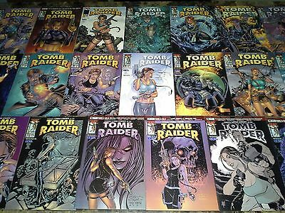 Tomb Raider 0 1/2 1 2 3 4 5 6 7 8 9 10 11 12 13 14 15 1-20 NM/M 9.8 9.6 Hi Grade