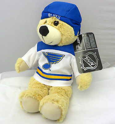 NHL St Louis Blues hockey  Teddy Bear  13 in plush toy
