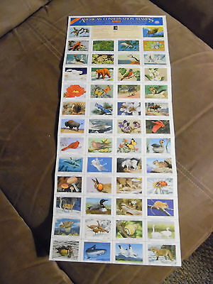 National Wildlife Federation Stamps 1988 conservation