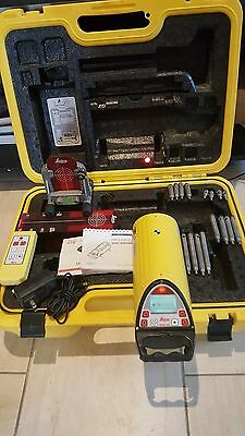 LEICA PIPER 100 Construction Red Beam Pipeline Laser System