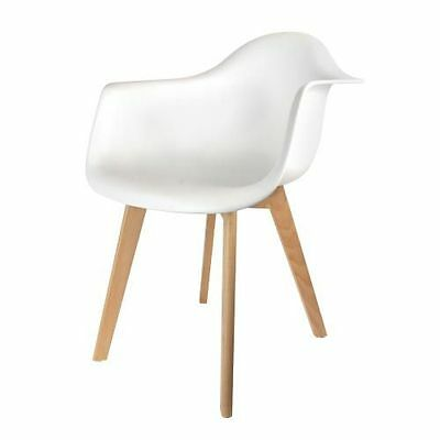 THDF - Fauteuil Scandinave The Home Deco Factory M2 - [ ] [Blanc] NEUF