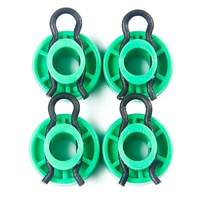 4XFront Green Window Regulator Roller For Saab 9-5 9-3 900 1999-2010 #4493433