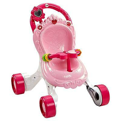 New Fisher-Price Princess Mommy Stroll-Along Musical Walker