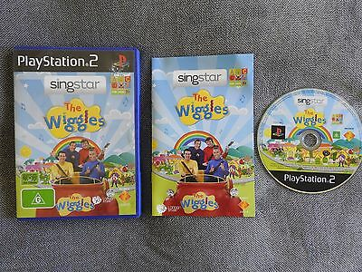 SINGSTAR THE WIGGLES for PLAYSTATION 2 'VERY RARE & HARD TO FIND'