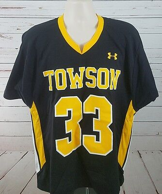 Townson Tigers Lacrosse Jersey Under Armour Large
