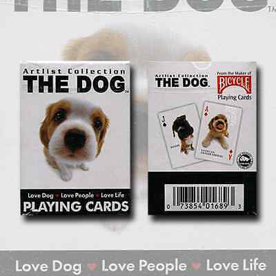 Mini Dog Bicycle Deck Of Playing Cards By Uspcc & Artlist Collect Magic Tricks