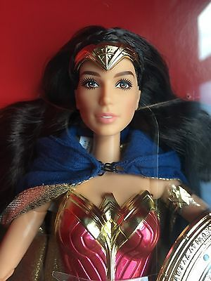 Mattel Barbie Amazon Princess Wonder Woman Doll SDCC Exclusive 2016 NRFB Gold La