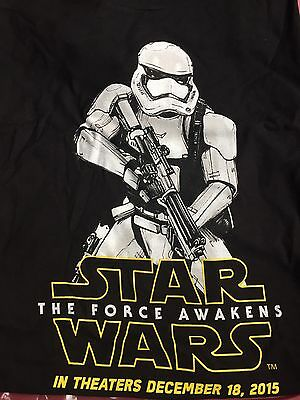 Star Wars The Force Awakens Force For Change T-Shirt Men's Extra Large XL NWT