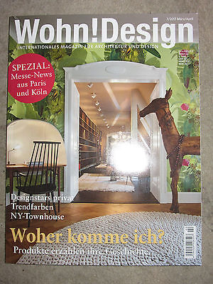 zeitschrift wohn design nr 2 m rz april 2017 neu und ungelesen eur 1 00 picclick de. Black Bedroom Furniture Sets. Home Design Ideas