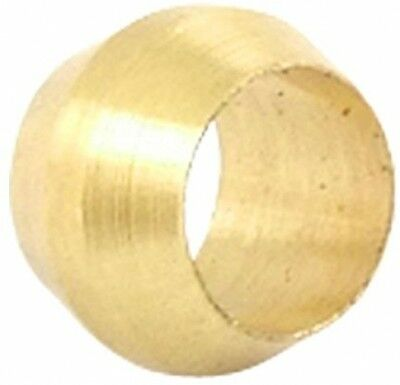 4mm Hole Dia Brass Compression Sleeve Ferrule Ring