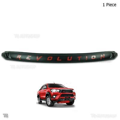 2015 16 2017 Front Bonnet Hood Trim Red REVOLUTION Fits Toyota Hilux Revo Pickup