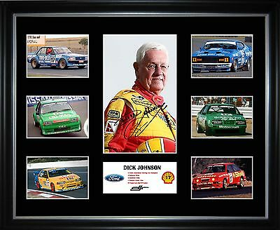 Dick Johnson Limited Edition Framed Memorabilia