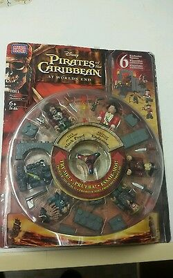 Rare New Sealed Mega Bloks Pirates Of The Caribbean At Worlds End 1081 From 2007