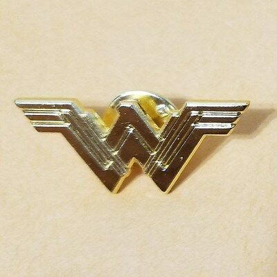 New Wonder Woman 2017 Movie Logo Pin Metal Lapel Props Official Theatrical SWAG