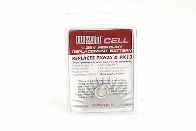 Wein Cell 1.35v mercury replacement camera battery PX625 MRB62 PX13 (WeinCell...