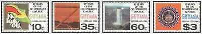 Timbres Guyana 557/60 ** lot 20847
