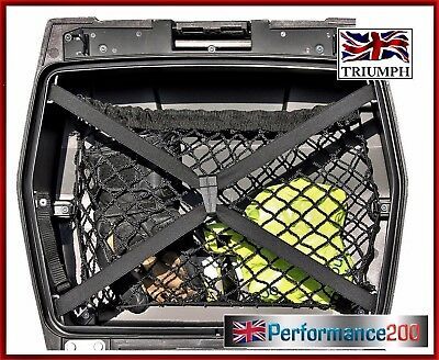 Cargo net for Triumph Tiger Explorer top box / side case panniers
