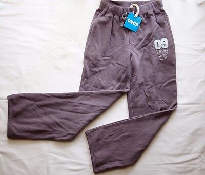 Ouch Boys Girls Unisex Brown/Purpleish Track Pants - Size 7 NEW