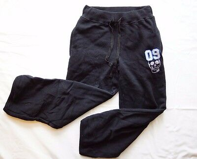 Ouch Boys Girls Unisex Black Track Pants - Size 5 NEW