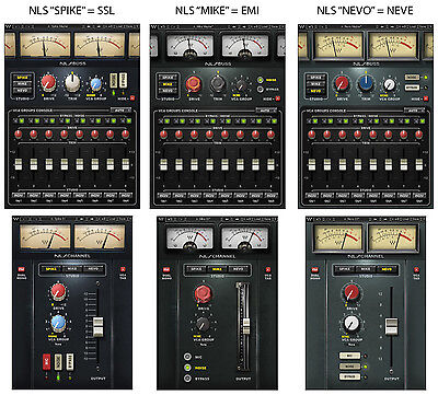 Waves NLS NON-LINEAR SUMMER plug-in *NEW*+1yr WUP Virtual Analog Console Summing