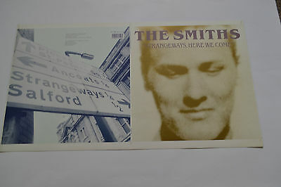 "The Smiths  UN-RELEASED STRANGEWAYS HERE WE COME 12"" SLEEVE  MORRISSEY"