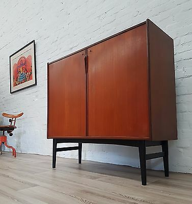 1960's Swedish Teak Cabinet (DELIVERY AVAILABLE)