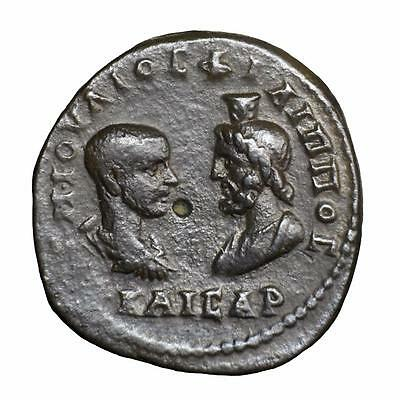 Moesia; Marcianopolis; Phillip II provenanced AE Pentassarion with Asclepius