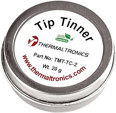 Tip Tinner Cleaner Welding Soldering Iron Prevent Oxide Thermaltronics TMT-TC-2