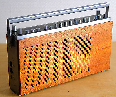 Beolit 1000 Rare B&O Transistor radio collectible Bang & Olufsen with schematics