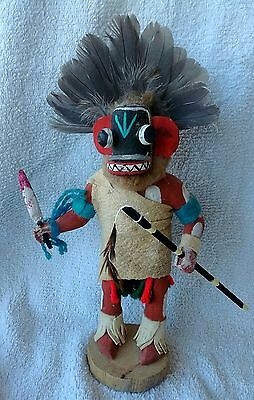 Outstanding Hopi Ogre Kachina by Sequin 1989