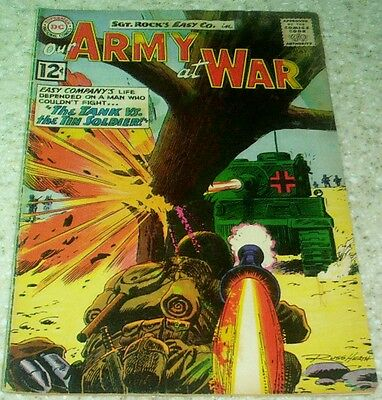 Our Army at War 118, VG/FN (5.0) 1962 1st Wee Willie & Sunny! 40% off Guide!