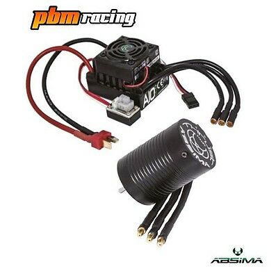 Absima Thrust BL ECO 1:10 RC Electric Brushless ESC / Motor Combo Set - 2120002