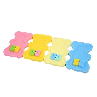 Newborn Baby Infant Toddler Bath Sponge Anti-Slip Mat Aid Bathing Bathtime