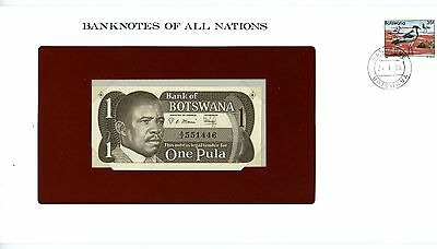 Botswana ... P-6 ... 1 Pula ... ND(1983) ... *UNC*Presentation Envelope.