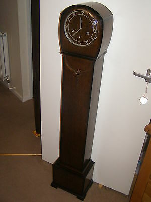 2 Available VINTAGE SMITH's GRANDAUGHTER CLOCK W/MINSTER Buy 1 get 1  1/2 price