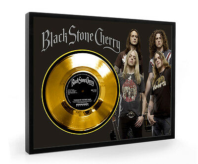 Black Stone Cherry Things My Father Said Framed Gold Disc Display Vinyl ( C1 )