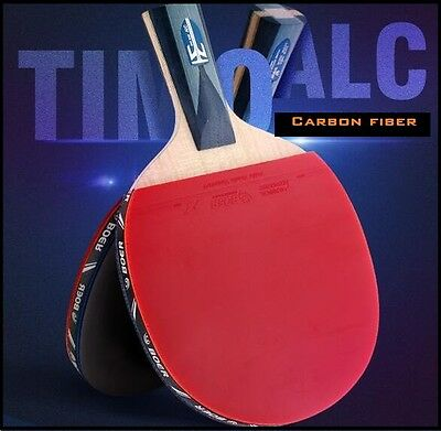 Table tennis racket Timo ALC boll Carbon new FL CS Ping Pong pimples in rubbers