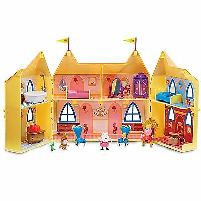 New Peppa Pig Princess Peppa's Palace Castle Playset For Girls