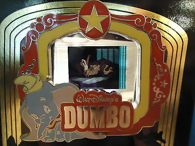 Disney Piece Of Disney Movies Dumbo Tigers Pin On Card Le 2000